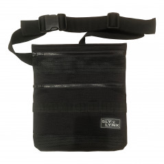 Mesh Finds Pouch, Belt Bag for Beach Metal Detecting. Black